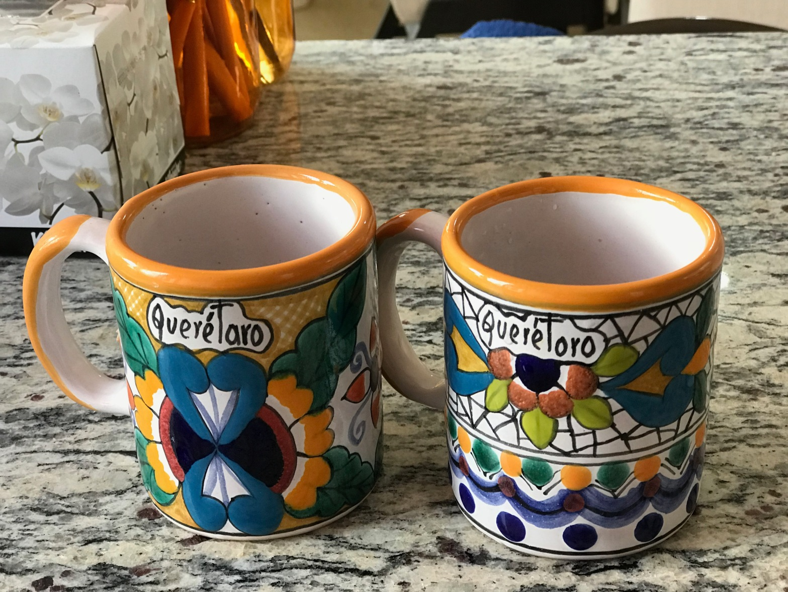Local Querétaro coffee mugs