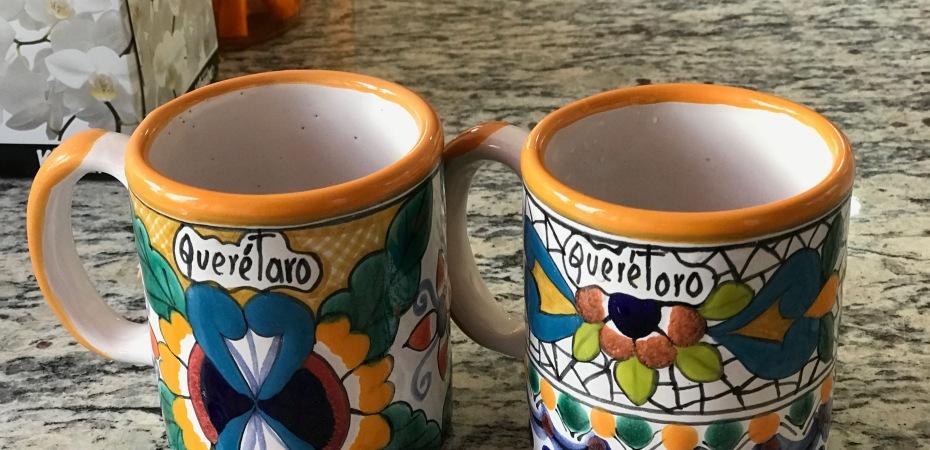Local Querétaro coffee mugs