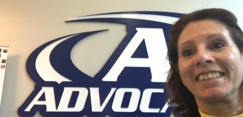 Donna at Advocare in Dallas