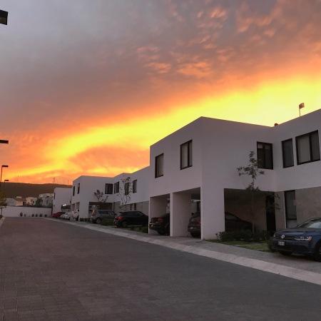 Sunrise over El Refugio