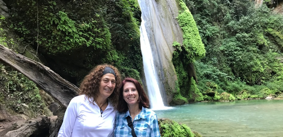 Jodi & I in the Sierra Gorda