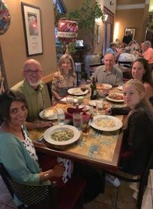 2019 Birthday dinner